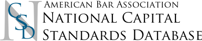 National Capital Standards Database
