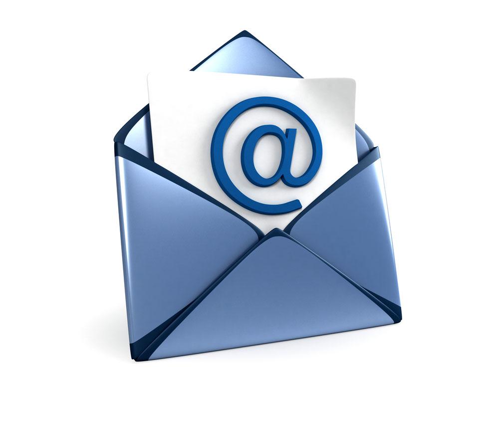 Registration Reminder: Email Addresses